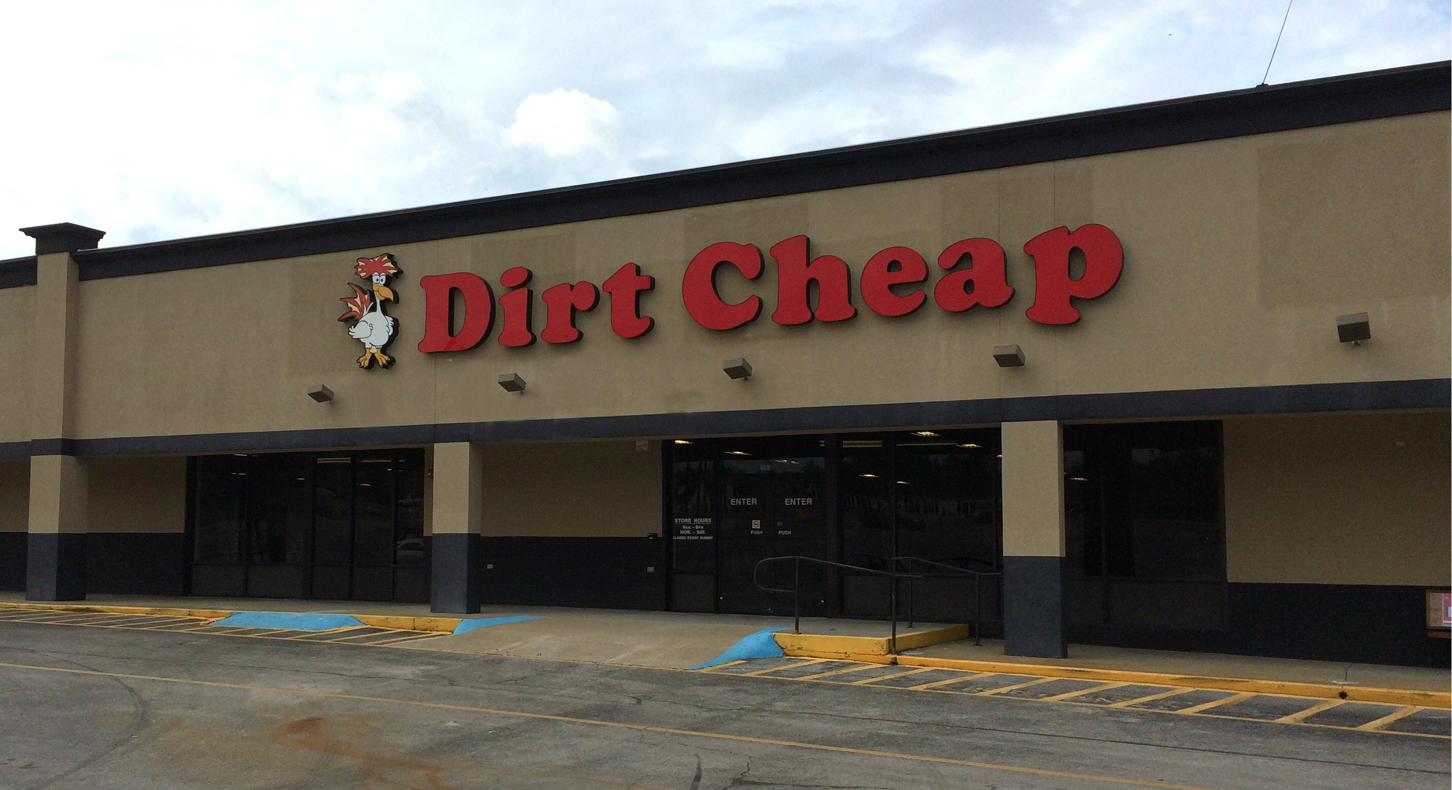 Dirt cheap store locations - Lewisburg Dirt Cheap