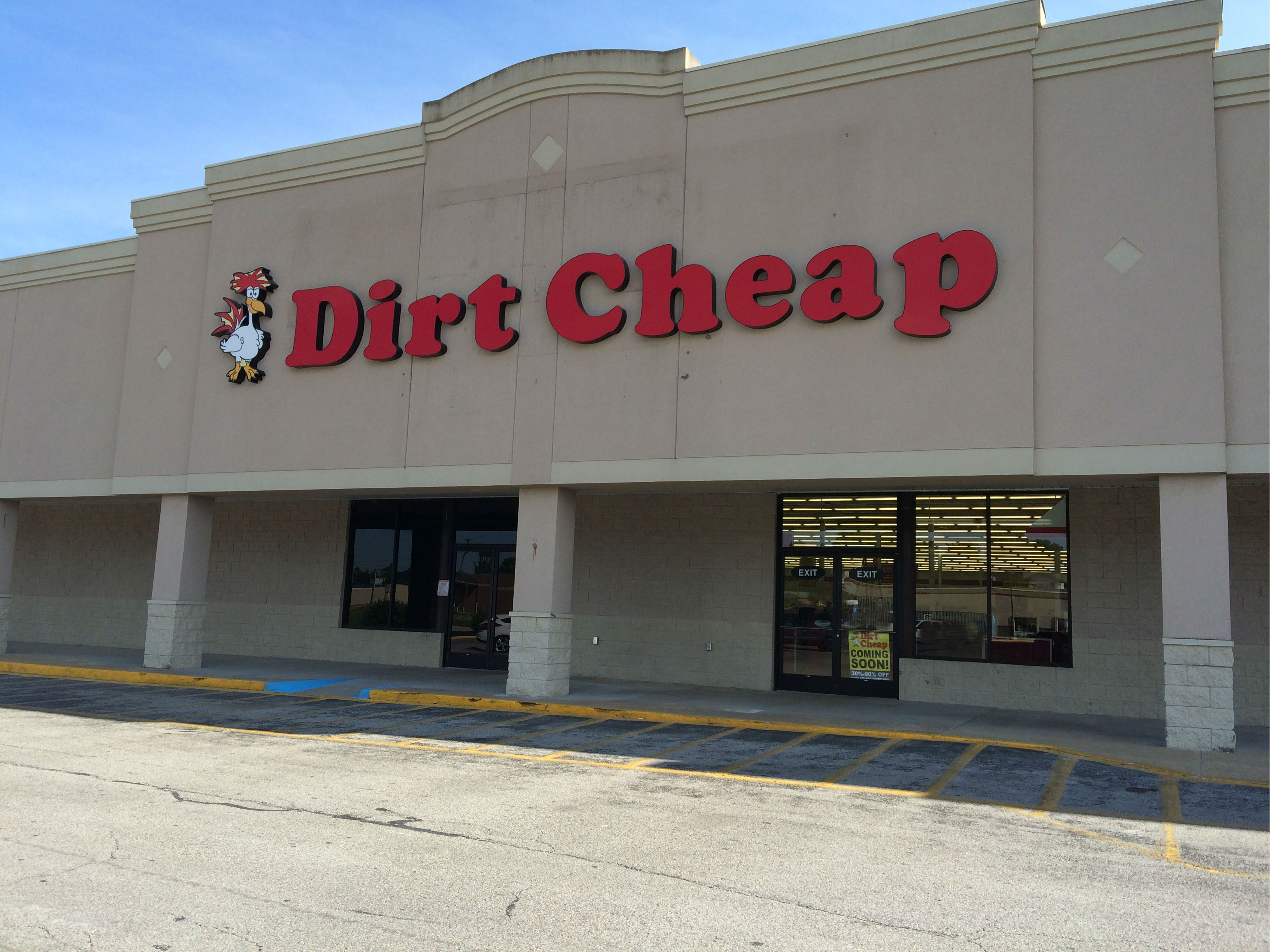 Lexington Dirt Cheap