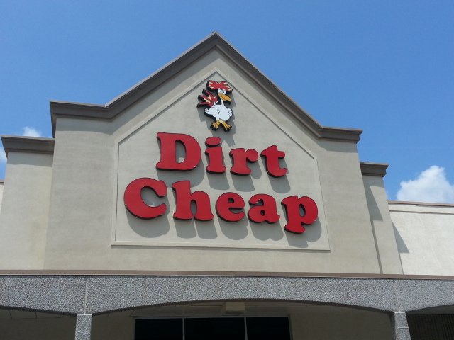 Sherman Dirt Cheap